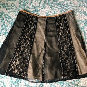 Free people skirt lace size 8